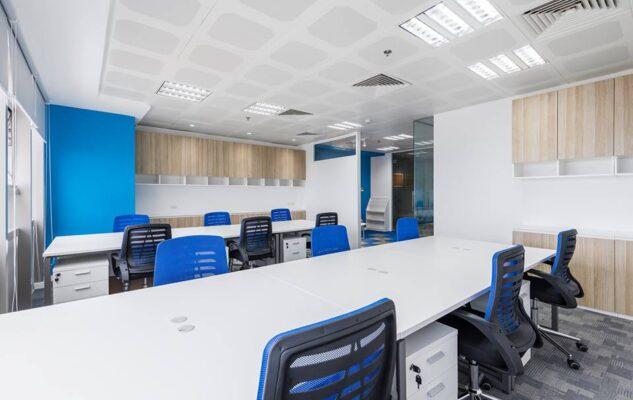 """Khi văn phòng của bạn được cách điệu từ một """"Khối trung tâm""""."""